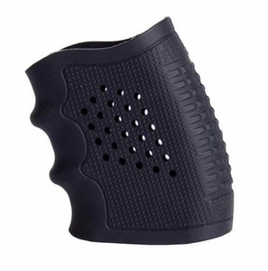 Tactical goma Grip guante cubierta manga antideslizante para la mayoría de pistolas pistola Airsoft Hunting accesorios