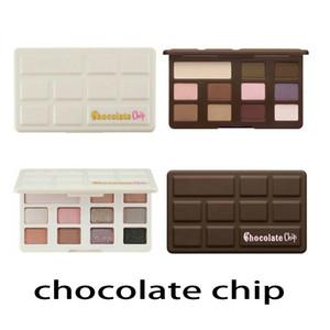 Nova Sombra de Olho De Chocolate 11 cores Maquiagem Profissional paleta da sombra Branco e Fosco Maquiagem Sombra DHL grátis 660163-1