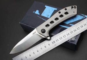 ZT Klappmesser Zero Tolerance ZT0801BRZ D2 Klinge 60HRC Taschenmesser Messer für Outdoor-Camping Wandern Jagdmesser Klappmesser