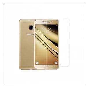 Samsung telemóveis vidro temperado e vidro temperado 2017 SAM C7 / C700 / curva ph embrane creen protetor ultra fino claro de proteção