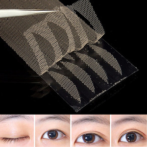Wholesale-120pcs/set Eyelid Stickers Double Eyelid Tapes Narrow Double Side Adhesive Technical Breathable Cosmetic Accessories