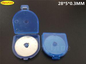 100 UNIDS Nuevo Quilting Rotary Cutter 28mm Papel de Papel Circular Cut Blade Patchwork Herramientas de Cuero Craft Cutter Accesorios