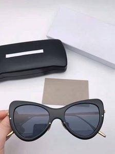 Солнцезащитные очки Новые очки Gafas Men De Sunglass Пуди солнцезащитные очки Sunglass Box Солнцезащитные очки Бренд Женщины Sun Sol Model: Leela Film Oculos Color Drpve