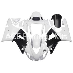 3 regalos gratuitos Carenados completos para Yamaha YZF 1000-YZF-R1-98-99 YZF-R1-1998-1999 Kit de carenado completo para motocicleta Estilo blanco vv20