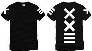 Envío gratis nueva venta moda PYREX VISION 23 camiseta XXIII camisetas impresas HBA camiseta nueva camiseta moda camiseta 100% algodón 6 color