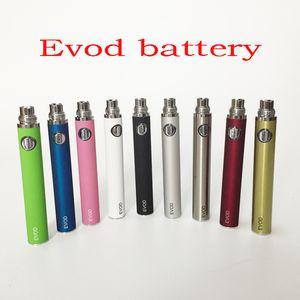 Ecigs EVOD 650mAh 900mAh 1100mAh batteria per Ecigarette MT3 CE4 CE5 vaporizzatore atomizzatore serbatoio Vape Penne Electronic Cigarettes e cig