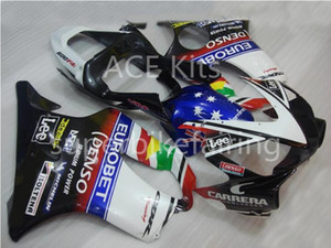 3 free gifts For Honda CBR600F4i 01 02 03 CBR 600F4i CBR600 2001 2002 2003 ABS Motorcycle fairing Blue Red White Black AA61