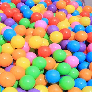 5,5 centimetri bambini del bambino che crescono Ocean palla giocattoli acqua divertimento sabbia gioca palla perline gelatina multi colore natale festa di nozze complementi arredo casa HH-T32