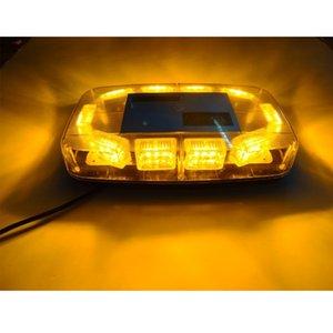 Auto Carro 12 V 30 W 240 Fotos Lâmpada Vermelho Azul Branco Verde Amarelo Truck Boat Hazard Segurança Aviso de Emergência Lanterna Telhado Top Strobe Mini Lig
