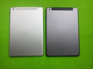 Logo ile yepyeni İçin ipad Mini 1 WiFi + Hücresel 3G 4G Versiyon A1454 A1455 A1432 Arka Konut Arka Kapak Çerçevesi Pil Kapı Bezel Kılıf