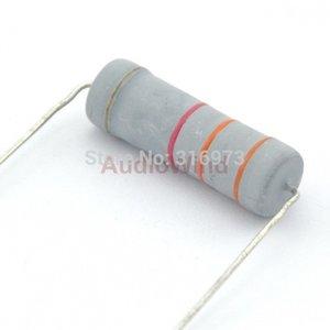 Atacado- (5 pçs / lote) 3.3K ohm Resistores de Filme de Óxido de Metal, 5 W, 5 Watts