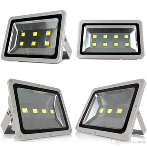 Ücretsiz Nakliye Led Projektörler Su Geçirmez 100 W 150 W 200 W 250 W 300 W 400 W 400 W Led Açık Sel Işıkları Led Peyzaj Aydınlatma AC 85-265 V + CE UL