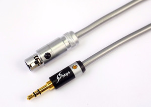 Freeshiping HiFi MPS X-7Swan HiFi 99.9997% OCC + 24K Gold Plated Plug 3.5mm-xlr K702 K271s K240s K712 Q701 Cavo audio Cavo altoparlante per cuffie