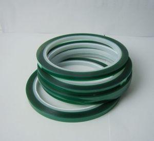 5mm * 33 m Isıya dayanıklı PET Yüksek Sıcaklık için Yeşil Maskeleme Koruyucu Bant PCB Lehim Kaplama Yalıtım Koruma Ücretsiz Kargo