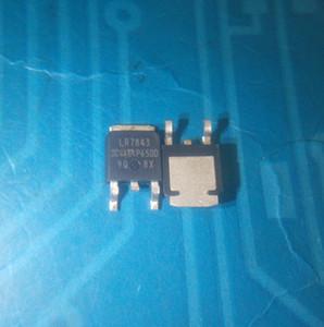 الجملة 10 قطعة / الوحدة IRLR7843 IRLR7843TRPFF MOSFET N-CH 30V 161A DPAK في الأسهم الجديدة والأصلية ic شحن مجاني