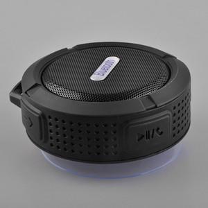 NUEVO Bluetooth Mini portátil USB inalámbrico de altavoces de sonido C6 ducha impermeable de la caja del altavoz de subgraves Boombox para el ordenador portátil / PC / MP3 / MP4