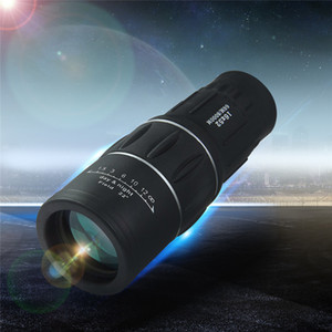 Outdoor Monoculars Night Vision Telescopes 16x52 Dual Focus Zoom Optic Lens Armoring Travel Monocular Telescope Tourism Scope Binoculars