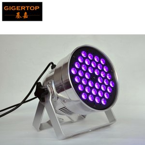 Tiptop 36x3 واط uv led الاسمية علب مصغرة الحجم dmx512 / الصوت / التحكم التلقائي المرحلة خلفية الديكور والإضاءة المدمج في كابل الطاقة