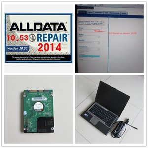 Alldata 10.53 oto tamir yazılımı ile mitchell demend 2015 1TB HDD Windows 7 yüklü D630 Dizüstü bir yıl garanti