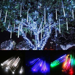 Multi-color 30cm 50cm LED Lights Meteor Shower Rain Tubes Garden Light Christmas Lights Wedding Party String Light Outdoor Light