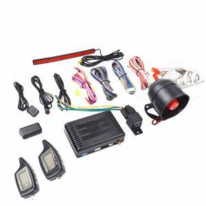 Alarme de voiture 2 voies LCD de voiture de sécurité de véhicule CarBest | Passive Keyless Entry (PKE) | Système d'alarme de cambrioleur de voiture - CA-3300c