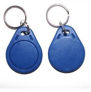 Il prezzo di fabbrica più economico fa TK4100 EM4100 125khz 100pcs / lot ISO11785 ABS RFID tessera Lealtà tag chiave Chiave personalizzata Etichetta Tag fob