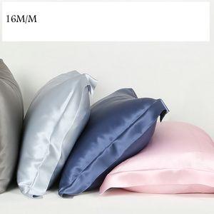 Atacado fronha 16m / m estilo única face do envelope de seda almofada de cetim fronha 100% puro amoreira fronha seda