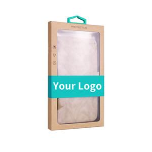 Diseño de logotipo para el paquete de empaque de papel artesanal de alta calidad para iPhone 7 para 7plus case