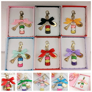 Creation Cartoon Accesories Game Burger Cookie Toys Cake Keychain Charm Pendant Car Phone Key Rings Keychain Gifts With Retail Pack HH-K04