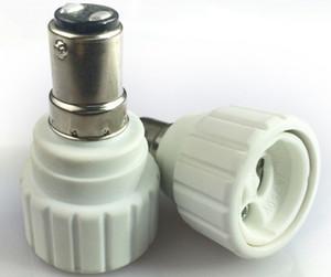 PBT Anti-Alev B15D GU10 Lamba tutucu dönüştürücü led ampul için ampul