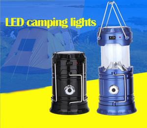5 W 2 Kullanım El Taşınabilir Lamba Katlanabilir Şarj Edilebilir Güneş Fener Çadır Işık Yürüyüş Kamp Dış Aydınlatma için b312