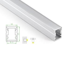 20 X 1M 세트 / 많은 공장 가격 지상 또는 바닥 램프 알루미늄 프로파일 및 IP55 수퍼 슬림 채널 주도