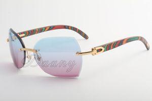 sunglassses di alta qualità, pavone legno prove, occhiali da sole, le persone con lenti marrone illimitate, 8300818 dimensioni: 60-18-135 mm