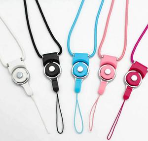 Drehbarer abnehmbare Umhängeband abnehmbarer Ring Lanyard Charme-Charme für Handy MP3-MP4 Hanging Laufwerke ID-Karten-Halter
