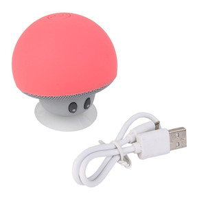 Mini Cute Mushrooms Style Altavoz Bluetooth
