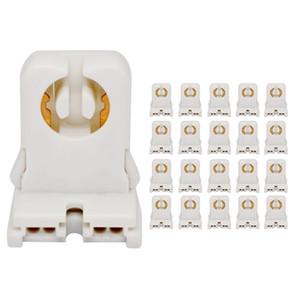 High quality AC 250V T8 G13 Base LED Aquarium Lamp Holder Socket Adapter Snap-In  Slide-On G13 T8 tube lamp socket