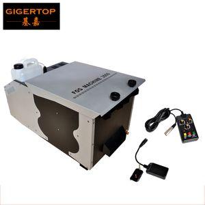 Freeshipping 3000W Low-do-chão Fog Machine DMX512 / Remote Control Contínuo Gelo Seco baixas máquina de fumaça Stage terra