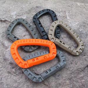 ITW Medium Tactical Outdoor Karabinerhaken Rucksack Molle System D Schnalle Militär Outdoor Tasche Camping Klettern Zubehör