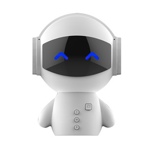 Roboter Bluetooth Lautsprecher mit Energien-Bank -New Datum tragbare Mini-Roboter-intelligente Blueototh Lautsprecher mit Energien-Bank-Funktion