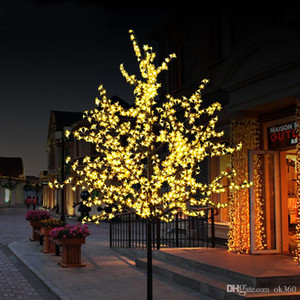 Luci artificiali fatte a mano LED Cherry Blossom Tree Luce di notte di Natale Decorazione luci di Natale 80cm LED