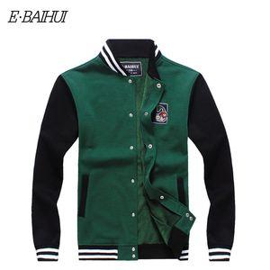 Wholesale-E-BAIHUI  mens hoodies and sweatshirts Moleton Masculino Cotton jacket hoodies Suit Men Sweatshirts Tracksuit Swag WY004