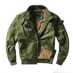 Männer Armee taktische Jacken Military Style Kleidung Mann-Winter Thick Pilot Mantel US Army 101 Air Force Bomber-Jacken-Mantel