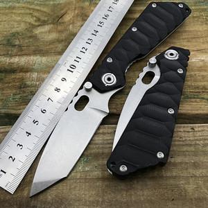 440 en acier inoxydable tanto lame G10 poignée stri marque chasse en plein air camping survie tactique couteaux pliant EDC outil pouce couteau