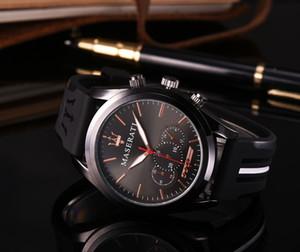 2018Casual Reloj de Cuarzo Menes Mujeres Top Marca maserati Relojes de Acero Inoxidable Relojes Hombre Horloge Orologio Uomo Montre Homme SPROT WATC2