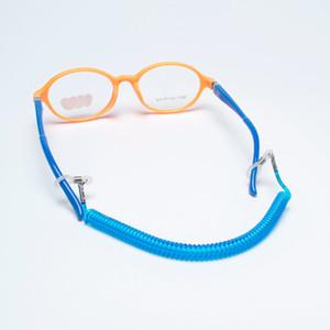 Silikon döngü ile Yeni kaliteli ucuz elastik Çocuklar sportif gözlük dize boyun düzenlenen askısı gözlük kordon süper hafif gözlük halat 6colors