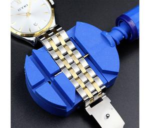 Montre bracelet de bande bracelet broche ajusteur lien outil de réparation outil de réparation bleu
