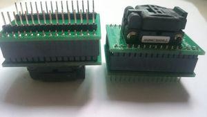 CNV-QFN32-DIP Yakma Soket plastronics 32QN40TS24040 QFN32PIN 0.4 MM PITCH IC TEST SOKET