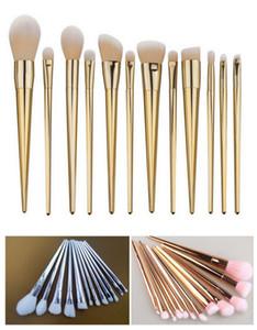 고품질 12 개 세트 / 전문 메이크업 브러쉬 세트 여성의 기초 파우더 아이 라이너 립 미용 도구 브러쉬