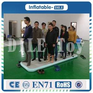 Kostenloser Versand 3X0.9x0.1m Indoor Gebrauchte Sportausrüstung Short Mini Größe Turnmatte Air Tumbling Mat Inflatable Air Track