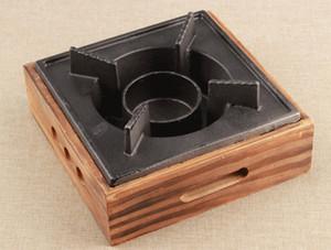 parrillas de hierro fundido estufa de barbacoa de mini portátiles para Commercial Hotel hogar al aire libre estufa de mini de aluminio de picnic 024